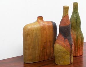 Marcello Fantoni Lava Vases for Raymor Italy 1955