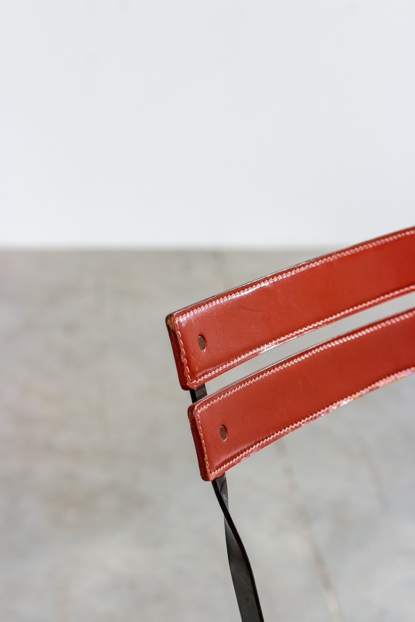 Marco Zanuso set of four folding chairs Celestina Zanotta Italy 1970s img 9
