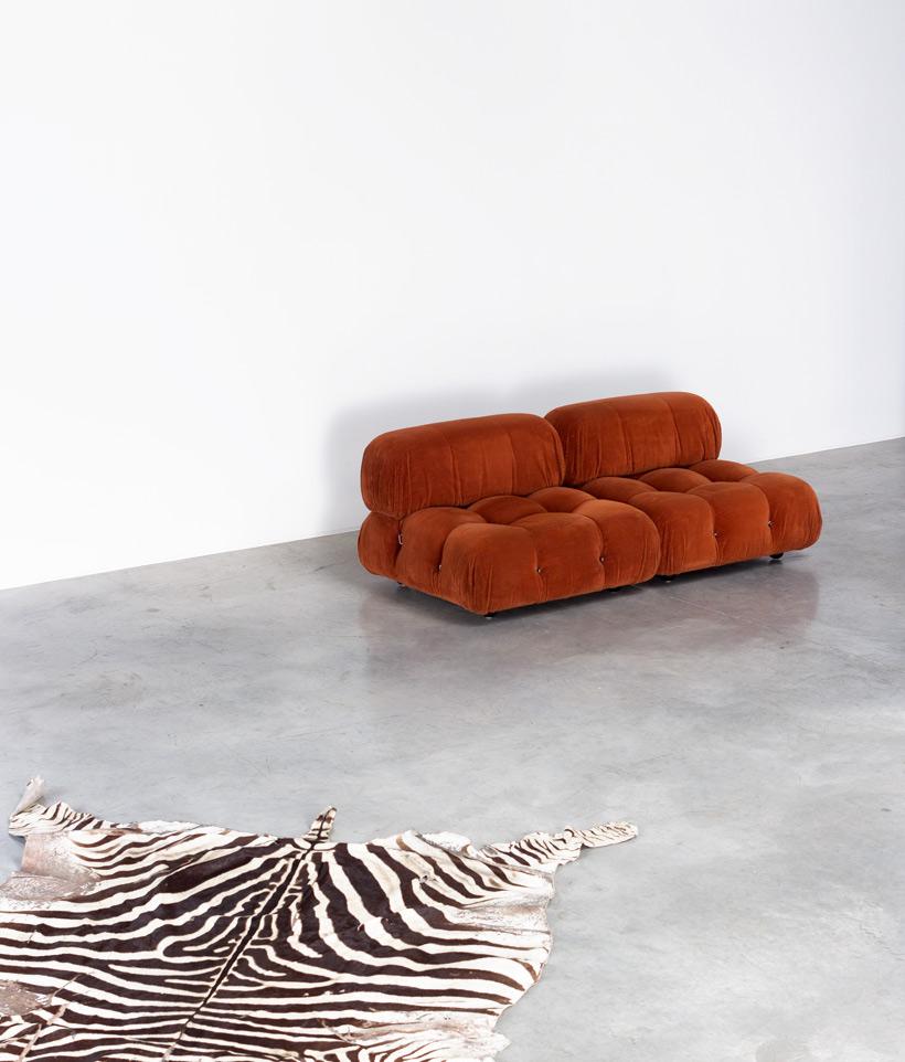 Mario Bellini Camaleonda lounge chairs B&B Italia