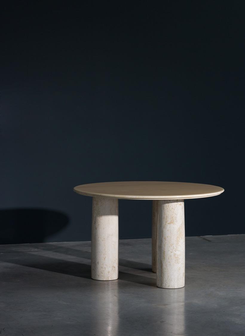 Mario Bellini Il Colonnato marble table Cassina
