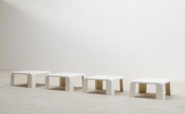 Mario Bellini Quattro Gatti Nesting tables