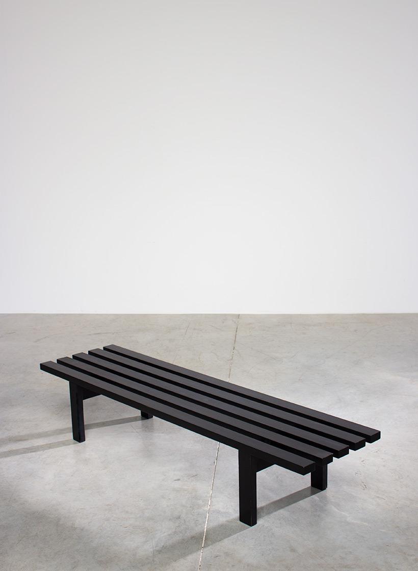 Martin Visser bench designed for Stedelijk Museum Amsterdam Spectrum