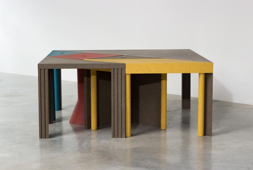 Massimo Morozzi Tangram 300 modular dinning table Cassina
