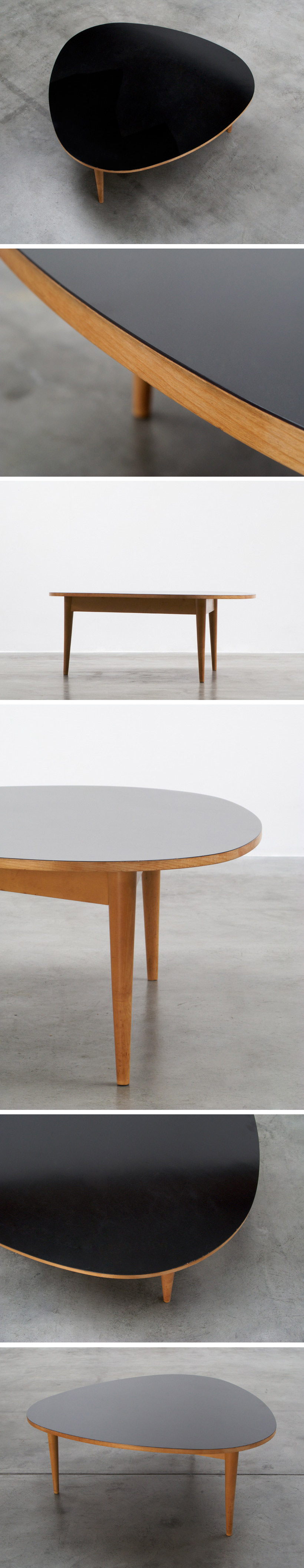 Max Bill Three-round coffee table Wohnbedarf AG Zurich Large