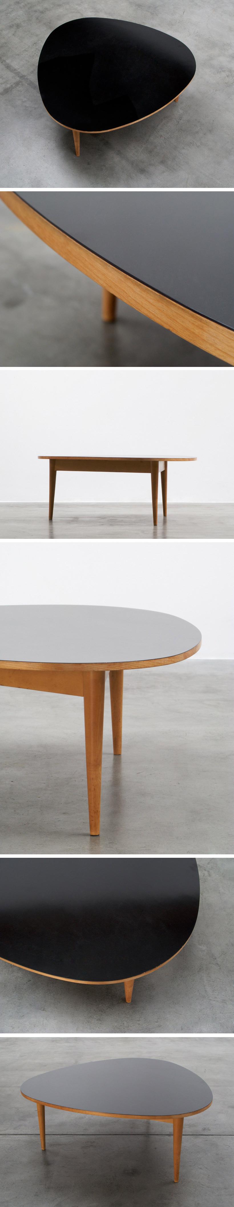 Max Bill Three-round coffee table Wohnbedarf AG Zurich Large