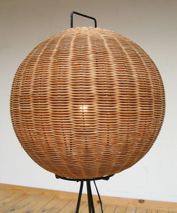 Modern 1950 floorlamp Noguchi eames era Large