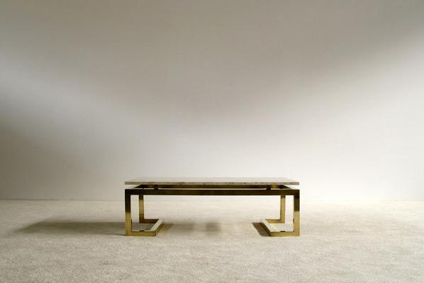 Modern rectangular elegant Regency Coffee Table