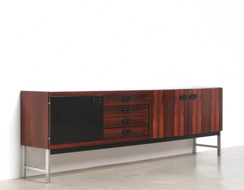 Modern rosewood sideboard Fristho Franeker