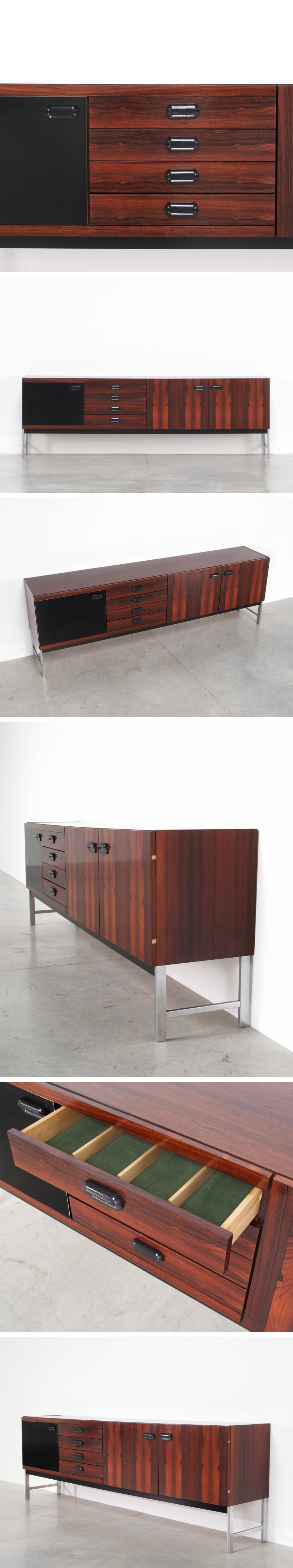 Modern rosewood sideboard Fristho Franeker Large