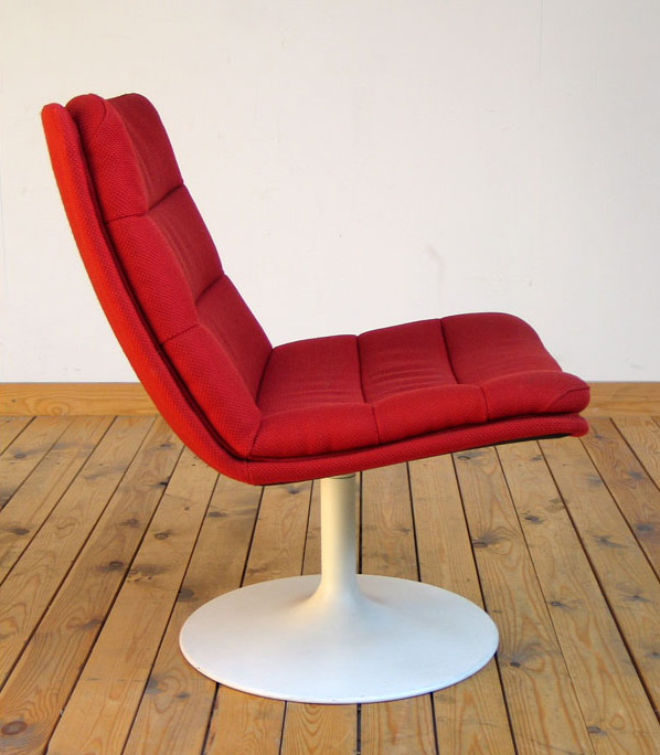 Modern Space Age lounge chair Geoffrey Harcourt for Artifort