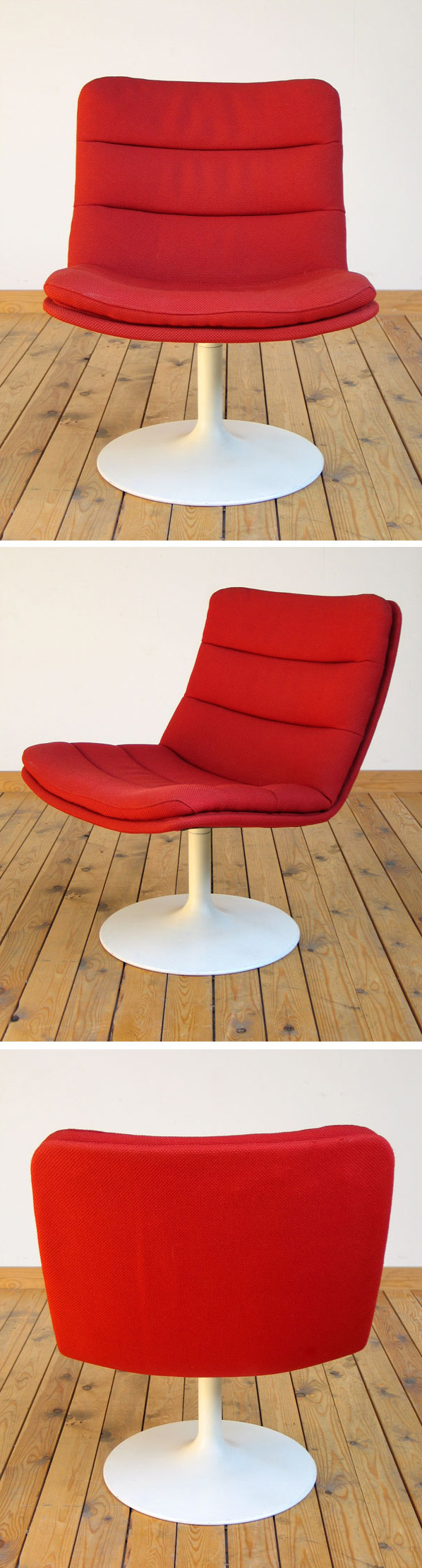 Modern Space Age lounge chair Geoffrey Harcourt for Artifort Large