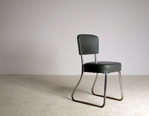 Modernist Art Deco Bauhaus office chair