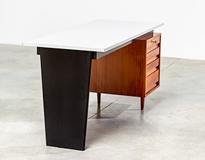Modernist desk design by Jos De Mey for Van den Berghe-Pauvers 1960