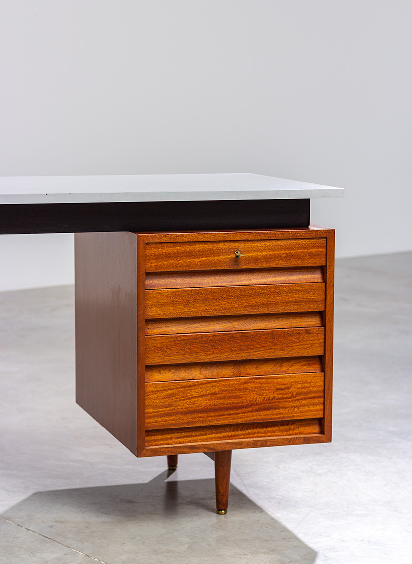 Modernist desk design by Jos De Mey for Van den Berghe-Pauvers 1960 img 4