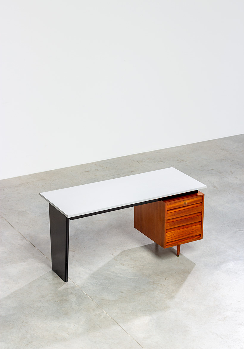 Modernist desk design by Jos De Mey for Van den Berghe-Pauvers 1960 img 6
