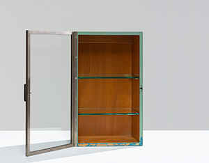 Modernist Pharmacy cabinet by H. Pander The Netherlands 1930