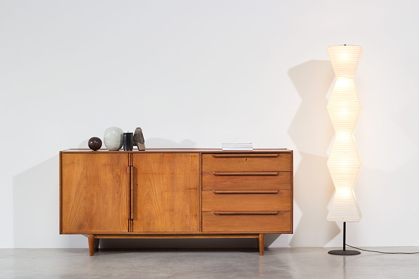Modernist sideboard 1950 Modern dutch oak furniture