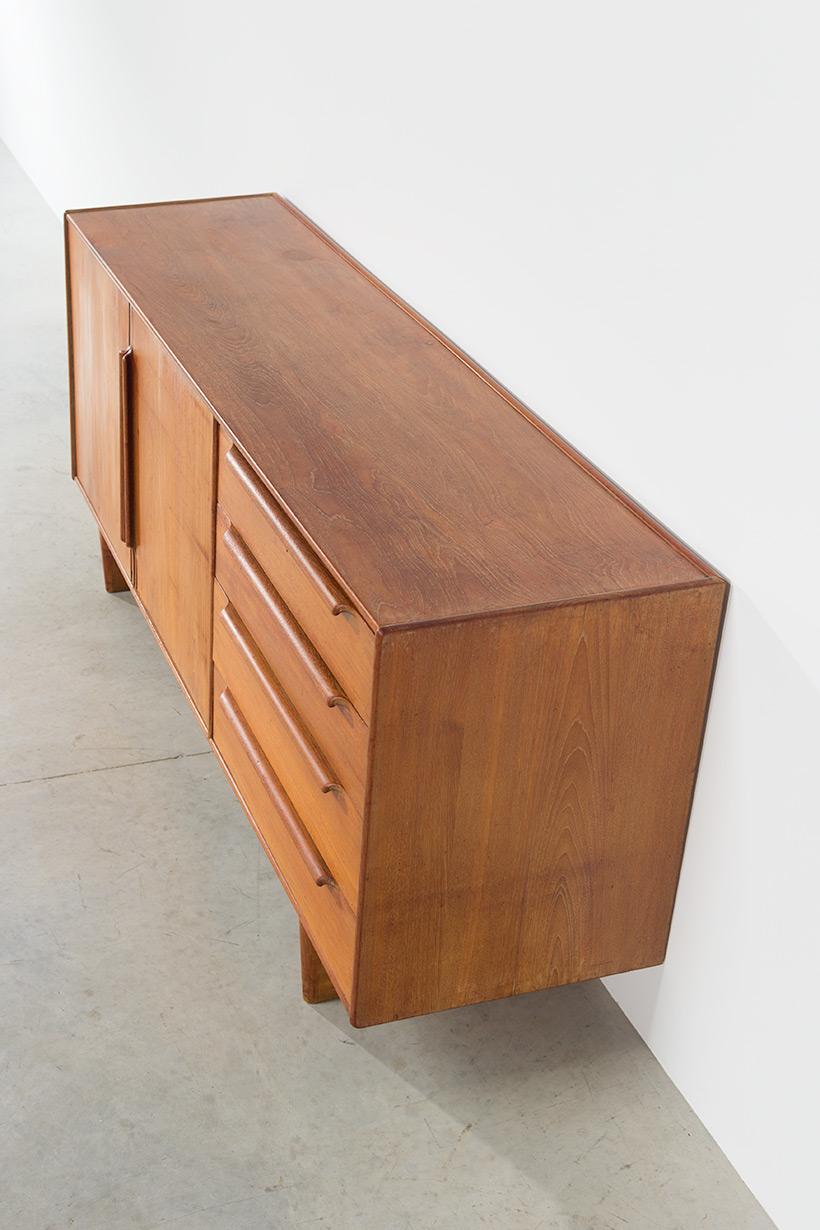 Modernist sideboard 1950 Modern dutch oak furniture img 8