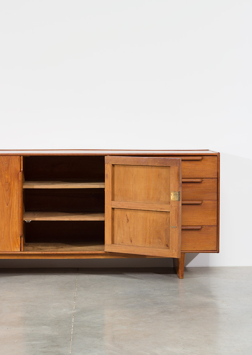 Modernist sideboard 1950 Modern dutch oak furniture img 9