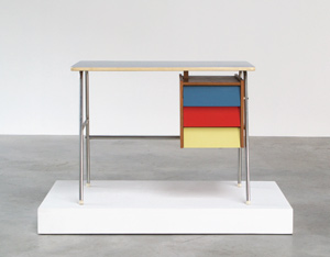 Multicolored children desk