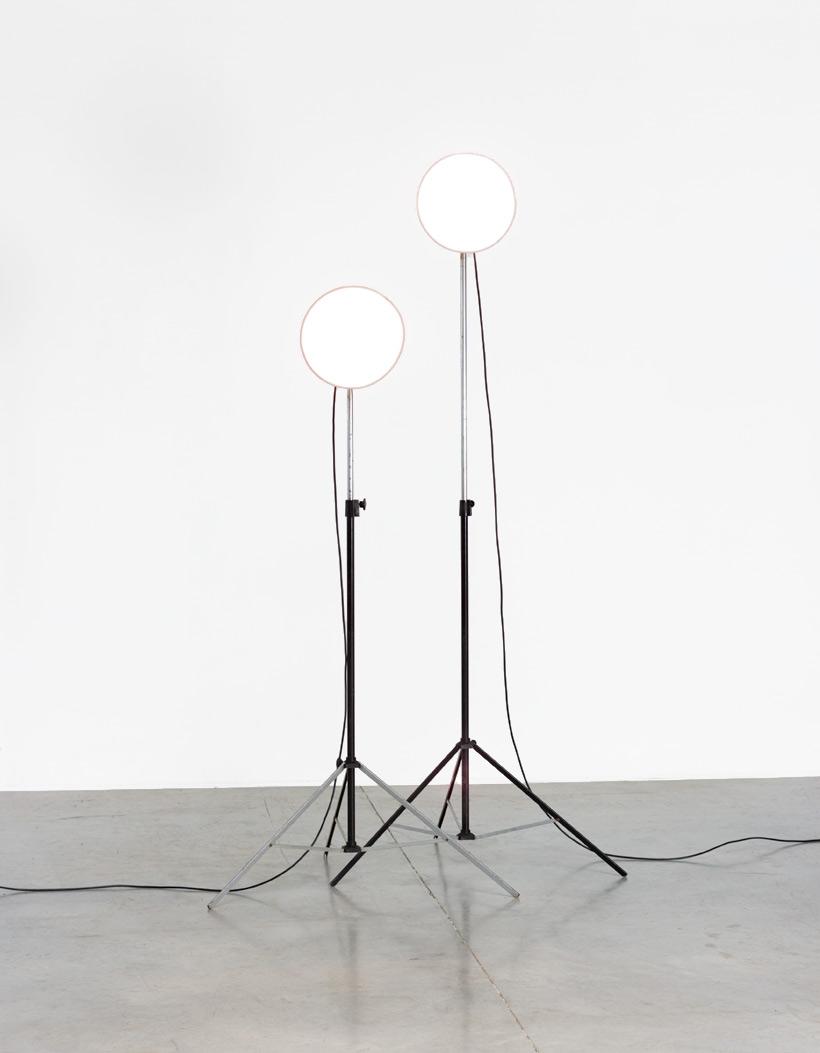 Narita pair industrial photographic studio lamps