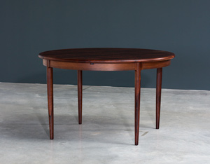 Niels Moller Brazilian Rosewood Danish dining table
