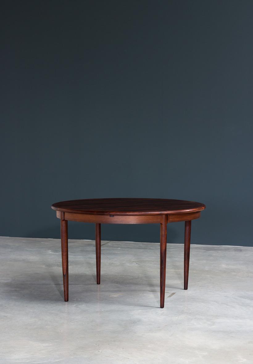 Niels Moller Brazilian Rosewood Danish dining table