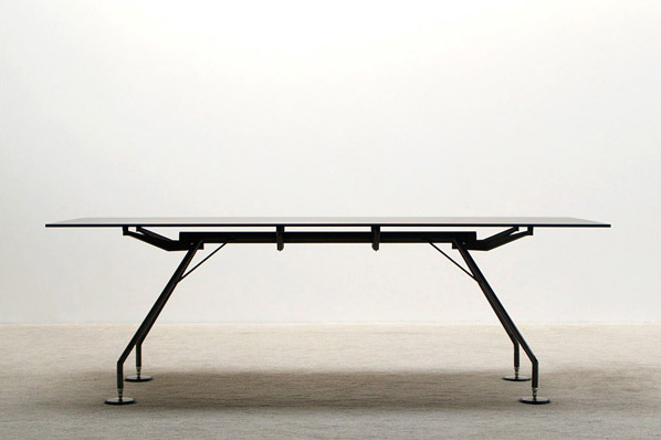 Norman Foster Nomos industrial table for Tecno
