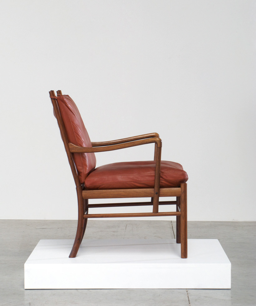 Ole Wanscher Colonial Easy chair P. Jeppesen