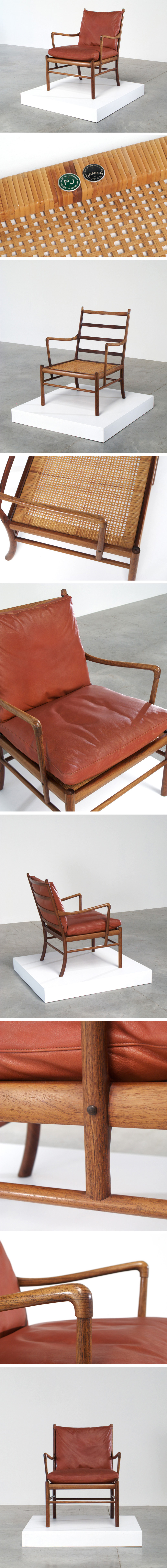 Ole Wanscher Colonial Easy chair P. Jeppesen Large
