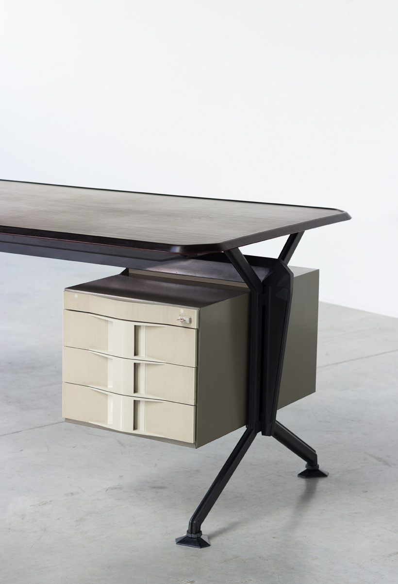 Olivetti Studio BBPR Arco office writing desk 1963 Large