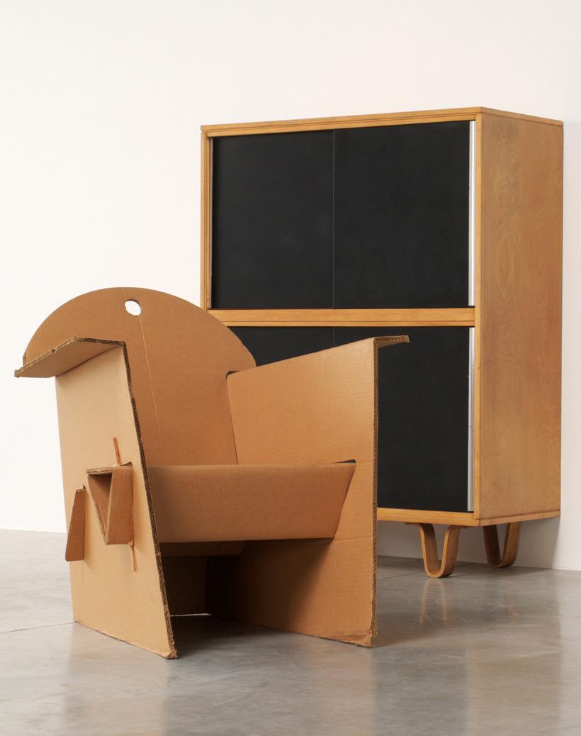 Olivier Leblois Kiosk chair or cardboard chair