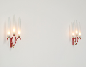 Pair of Italian sconces wall lights