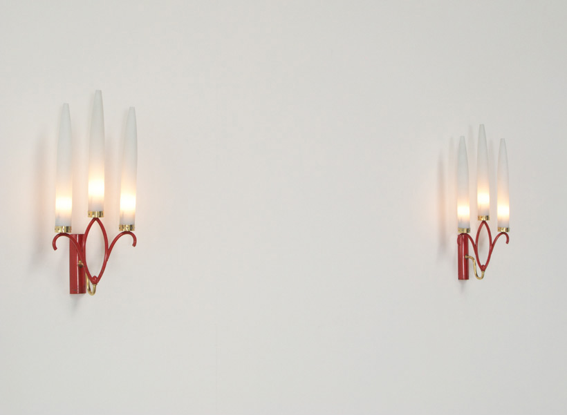 Pair of Italian sconces wall lights & Pair of Italian sconces wall lights | furniture love