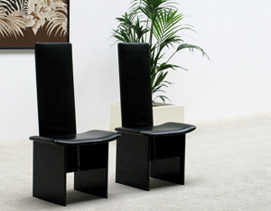 Pair of Kazuhide Takahama Rennie chairs for Simon Gavina
