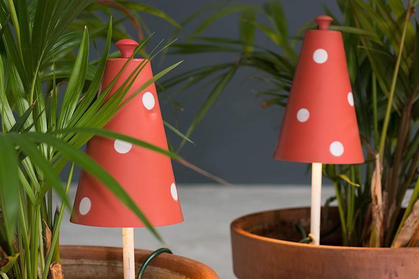 Pair of Mushroom floral lamps Philips 1950 img 7