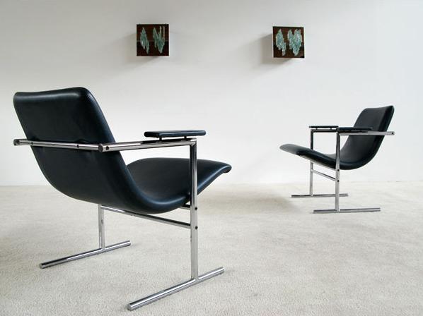 Pair of Rudi Verelst armchairs Oslo for Novalux