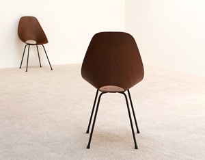 Pair of Vittorio Nobili Medea chairs by Fratelli Tagliabue