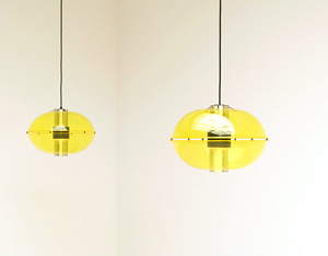 Pair Raak Roger B-1171 Pendant lights