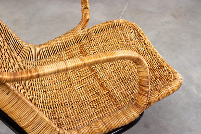 Pair rattan lounge chairs Dirk van Sliedregt for Gebr. Jonkers 1960 img 8