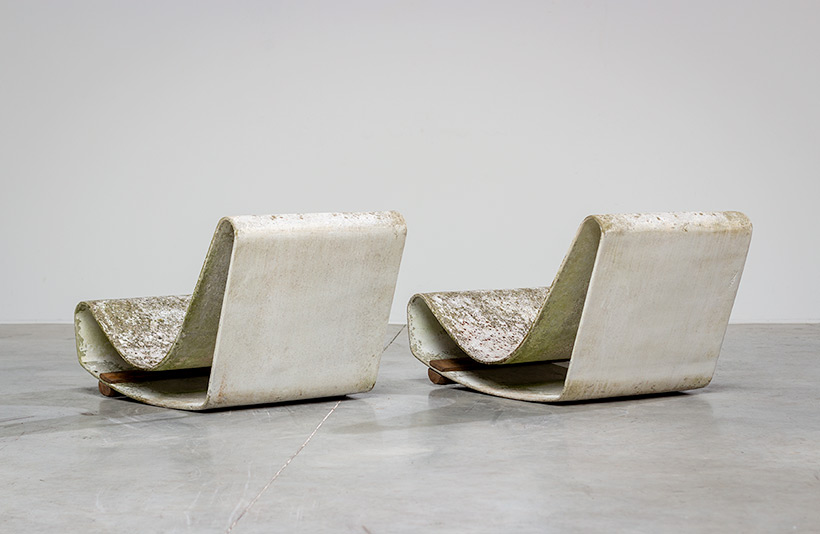 Pair Willy Guhl loop chairs for Eternit AG 1950s Switzerland img 10