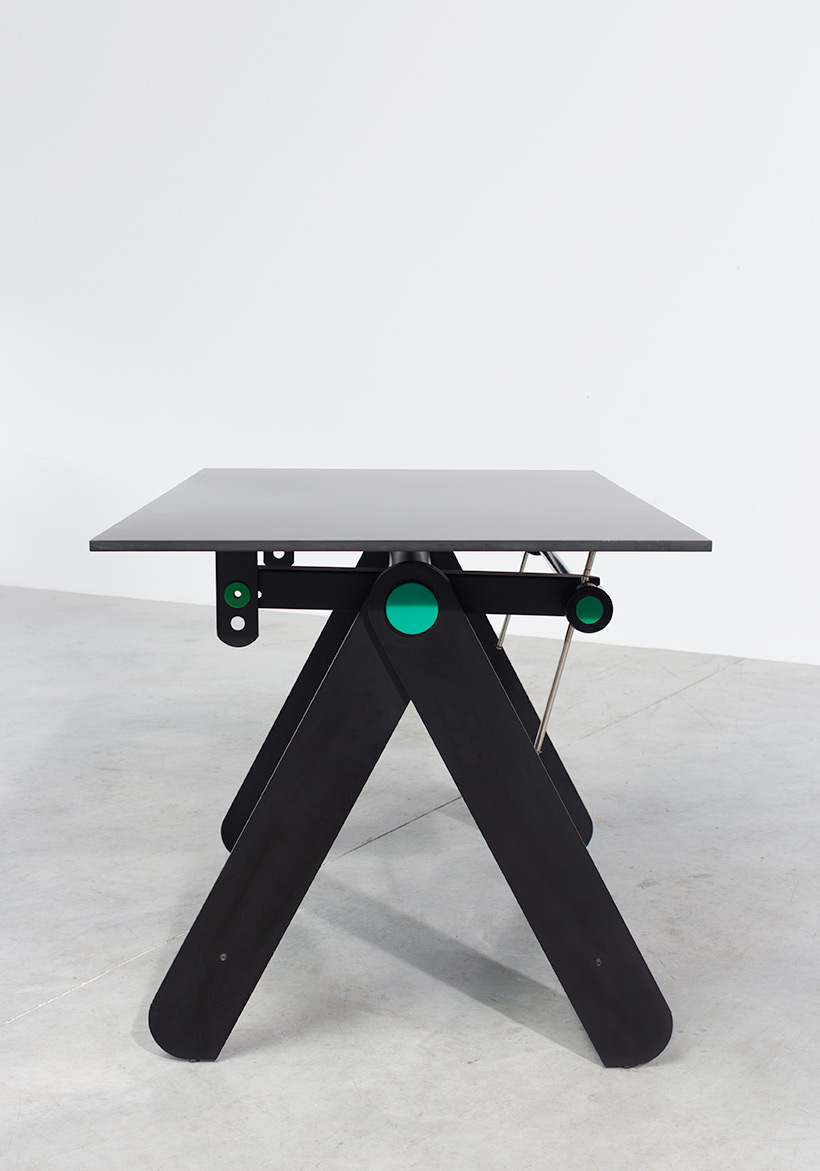 Paolo Parigi drawing table or desk architectural construction 1975 Italy img 8