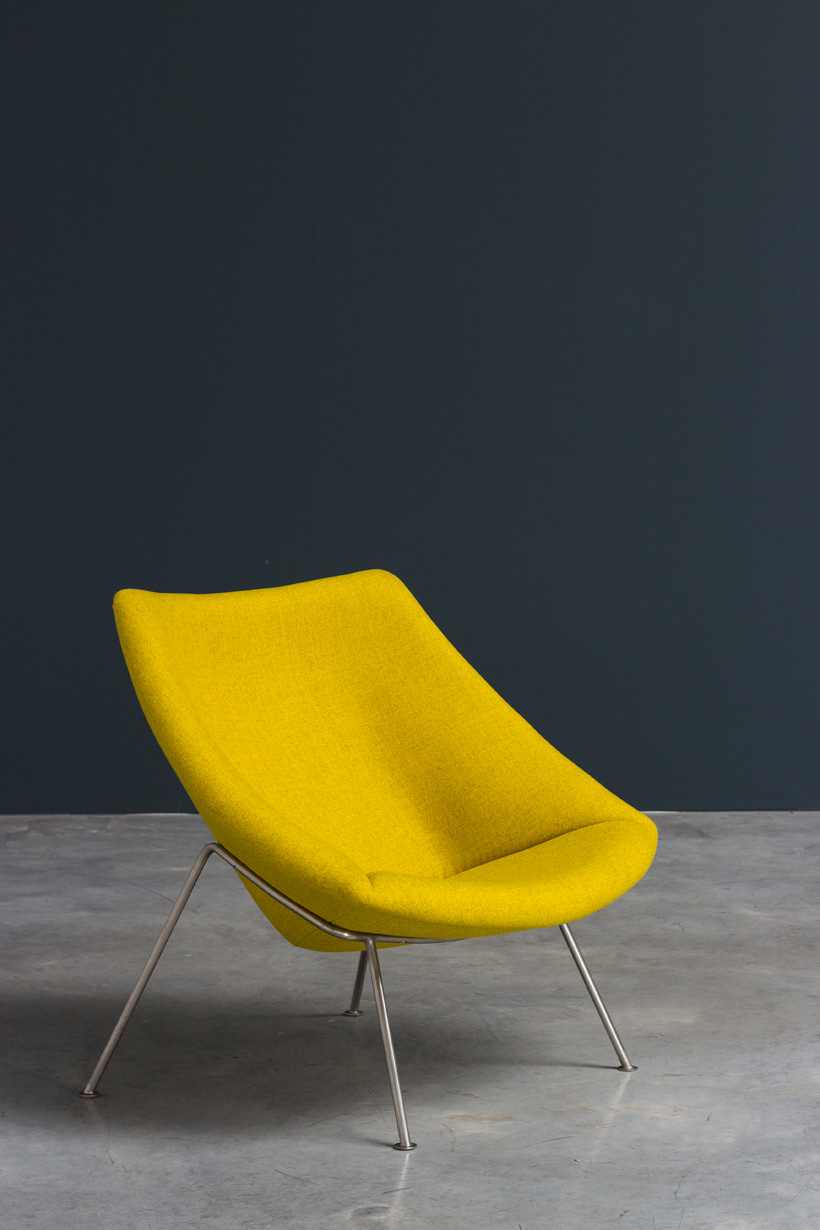 Paulin Pierre Oyster F156 lounge chair Artifort