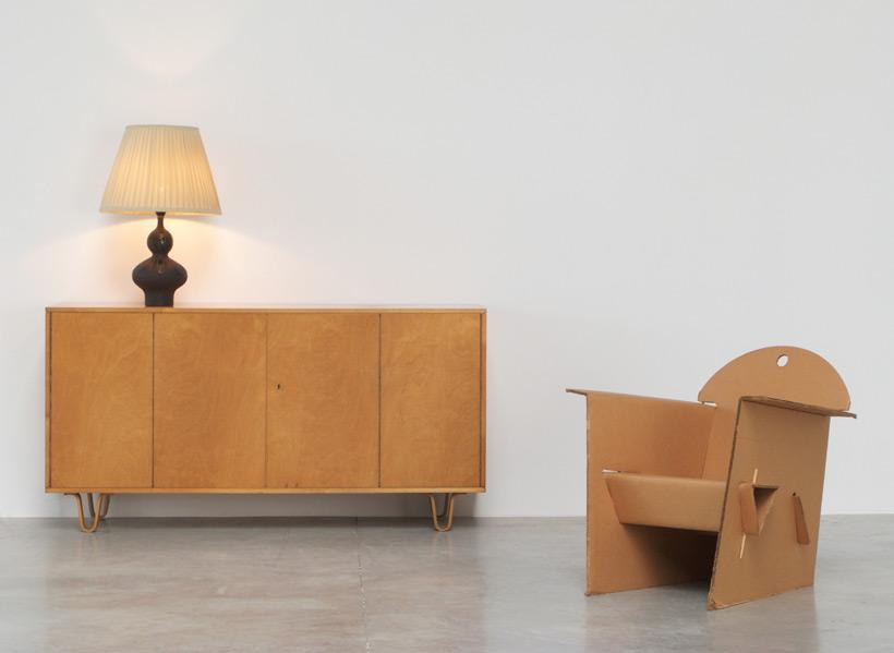 Perignem Brown and Black ceramic table lamp Large