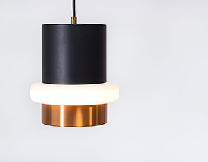 Philips pendant ceiling lamp model Locarno 1960