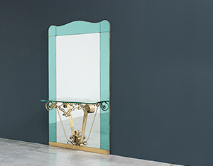 Pierluigi Colli mirror with console circa 1940