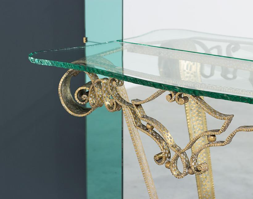 Pierluigi Colli mirror with console circa 1940 img 4