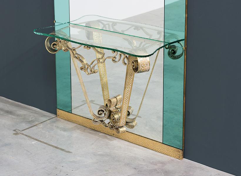 Pierluigi Colli mirror with console circa 1940 img 6