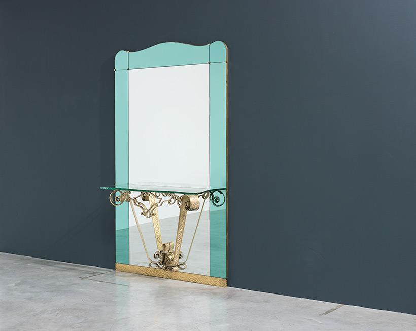 Pierluigi Colli mirror with console circa 1940 img 8
