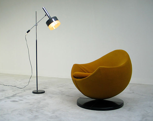 Pierre Guariche ball side chair Meurop 1960